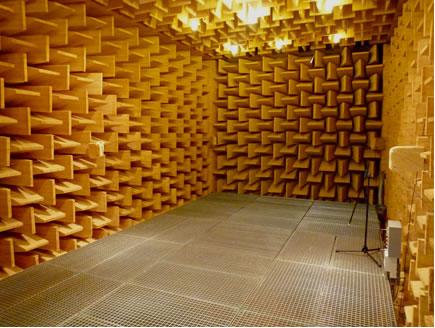 design : chambre anechoique acoustique [tours 1637], tours paris