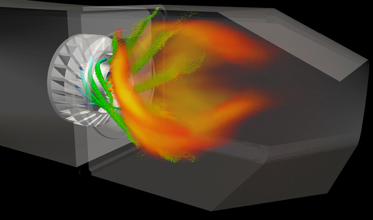 Simulation with CEDRE of soot formation in an aeronautical combustion chamber