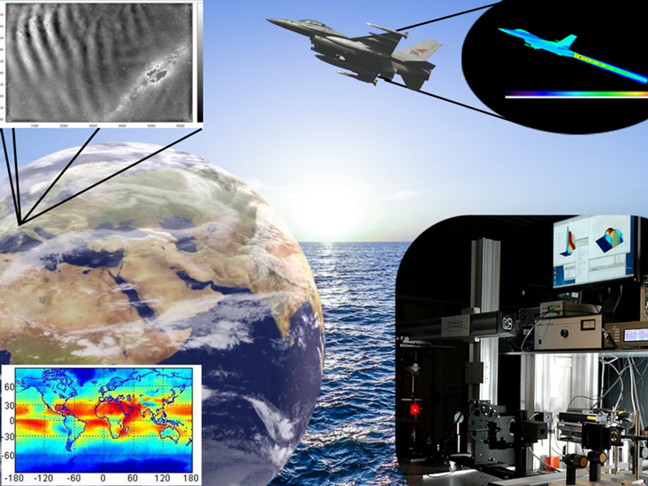 Overview of the activities with a focus on: nightglow radiation measurement - aircraft signature simulations with CRIRA - aerosols climatologies - measurement of optical properties of materials at MELOPEE lab