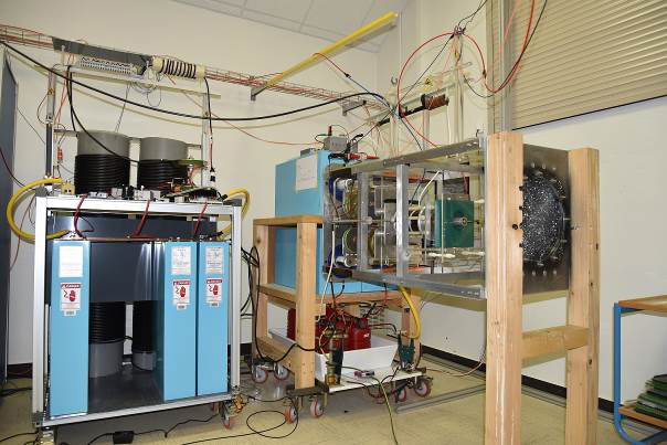 """GRIFON"" test bench for studying the impact of lightning"