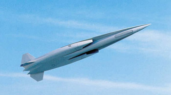 Air-breathing missile concept for high speeds