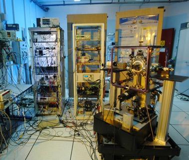 Gravimetre à atomes froids de laboratoire