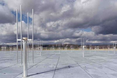 GRAVES Space Surveillance System: the receiving antennas