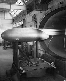 Tests on a model of the Caravelle in the continuous-operation transonic wind tunnel S3Ch in Chalais Meudon.